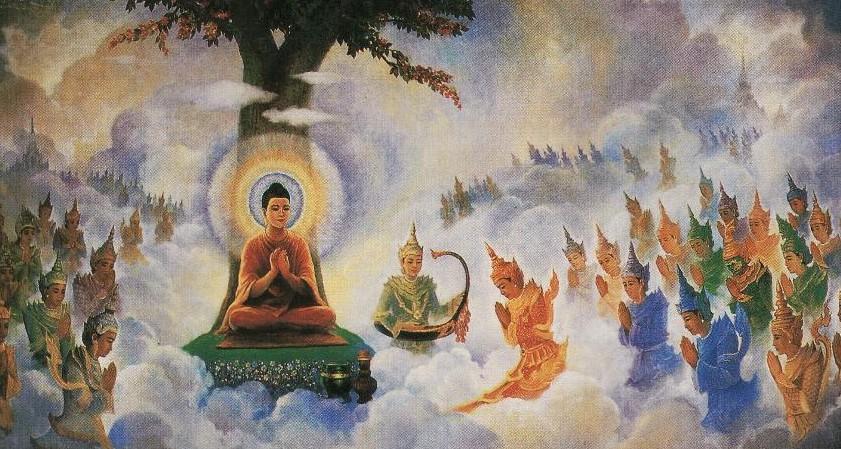 buddha tavatimsa abhidhamma