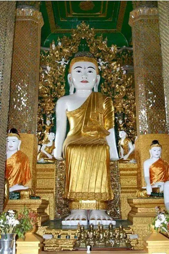 Kyaik Mayaw seated buddha